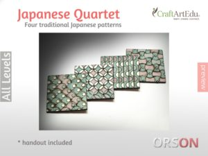 Japanese quartet – patterns